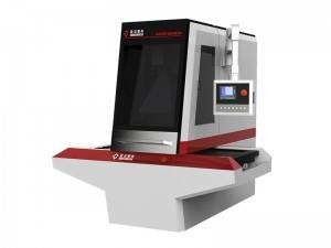 CO2 Galvo Laser Marking and Cutting Machine for Leather Jeans Labels