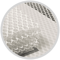 Laser cutting spacer fabrics 3D mesh_icon