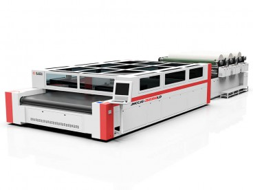 Airbag Laser Cutting Machine with Multi-layer Auto Feeder