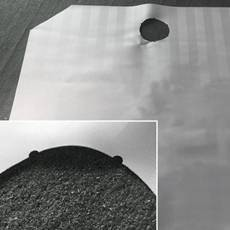 laser cutting of filter fabric 230x230