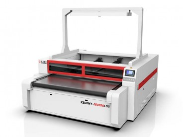 Independent Two Heads Vision Camera Laser Cutter Machine