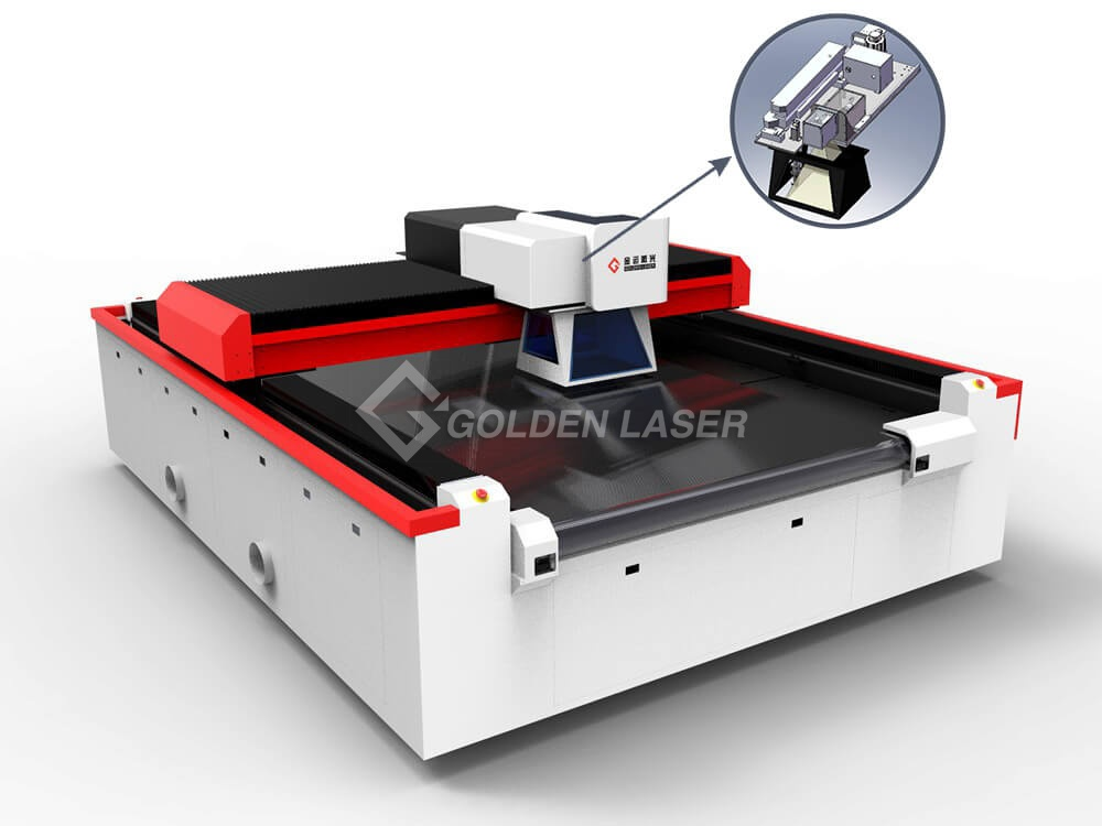 fabric duct laser cutting machine
