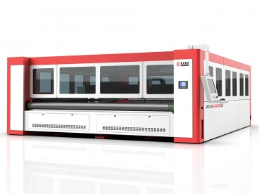 CO2 Laser Cutter for Filter Cloth Industrial Filtration Fabrics