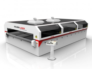 Industrial Fabric Laser Cutting Machine for Nylon,Fibreglass,Nonwoven