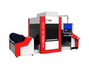 Roll te roll Flying Fabric Laser Engraving Machine