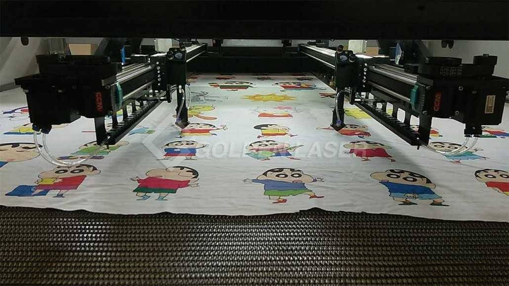laser cutting printed graphics